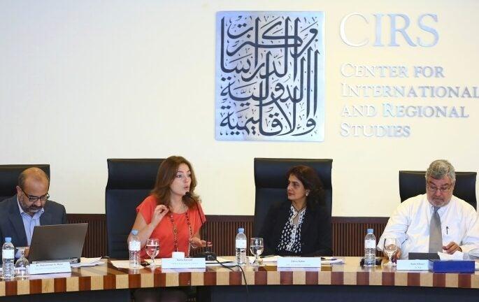 AUB-CIRS Host Panel on Knowledge Translation
