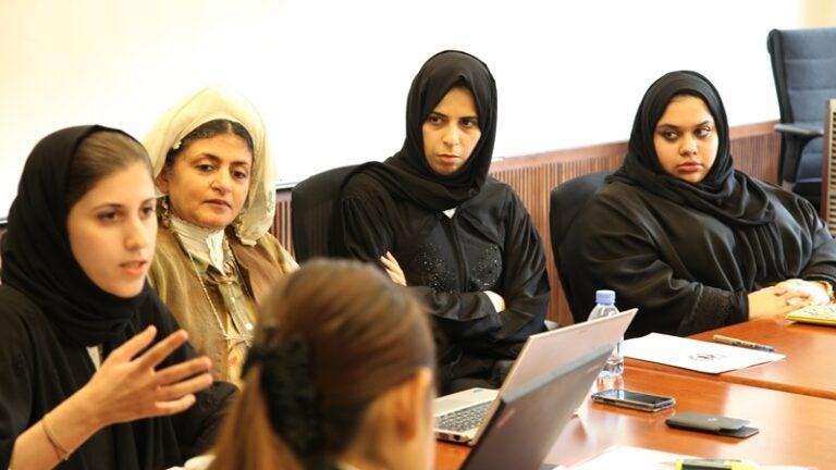 Women's Studies Circle Discuss Convention to Eliminate Discrimination against Women
