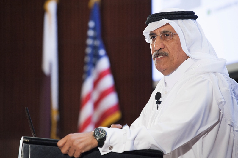 Sheikh Abdullah Bin Mohammed Bin Saud Al Thani on the Digital Generation