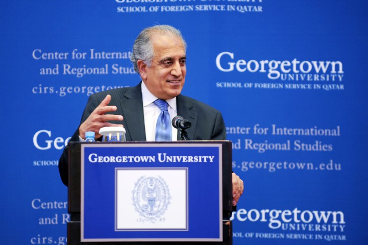 Zalmay Khalilzad on America and the Middle East: Future Challenges and Opportunities