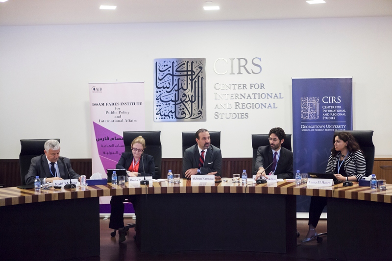 CIRS and the Issam Fares Institute for Public Policy and International Affairs Discuss Climate Change in the Arab World