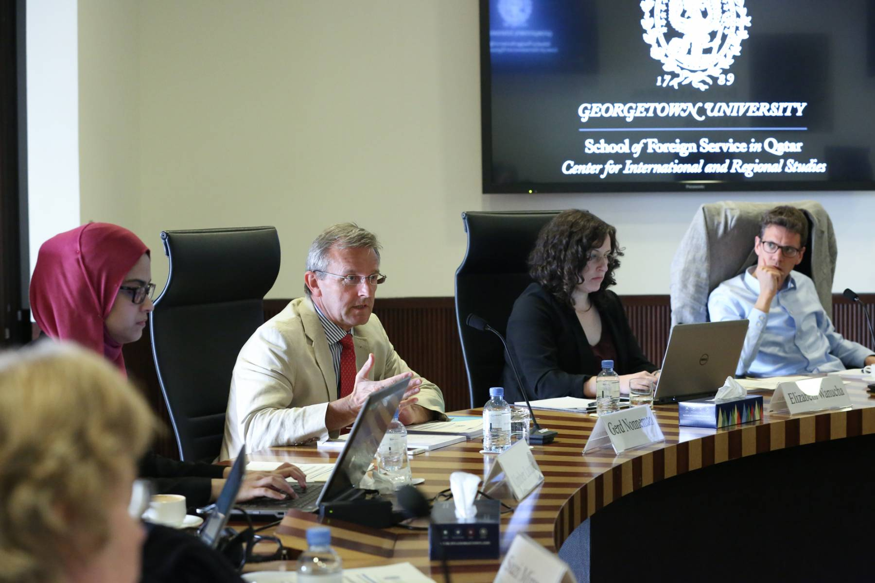 Geopolitics of Natural Resources in the Middle East Working Group Meeting II
