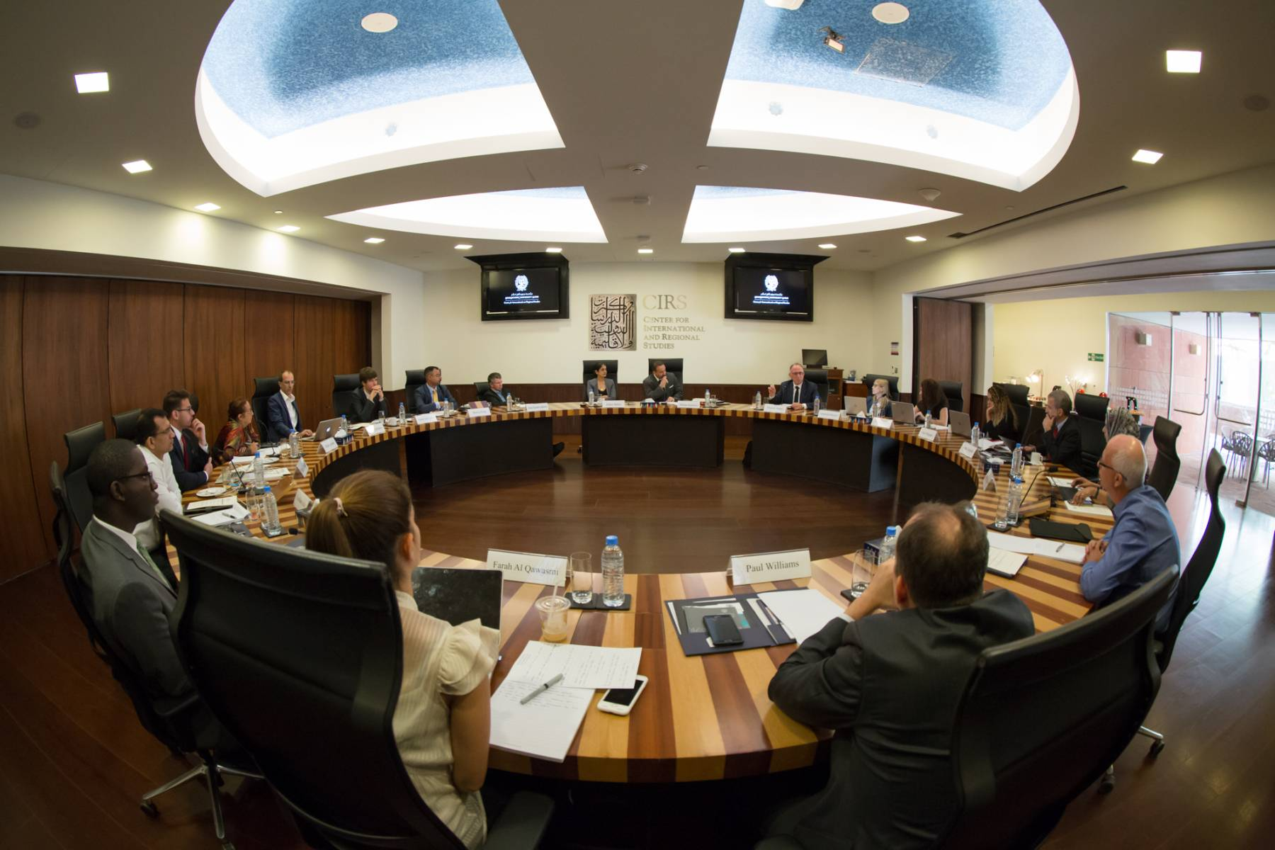 Water and Conflict in the Middle East Working Group I