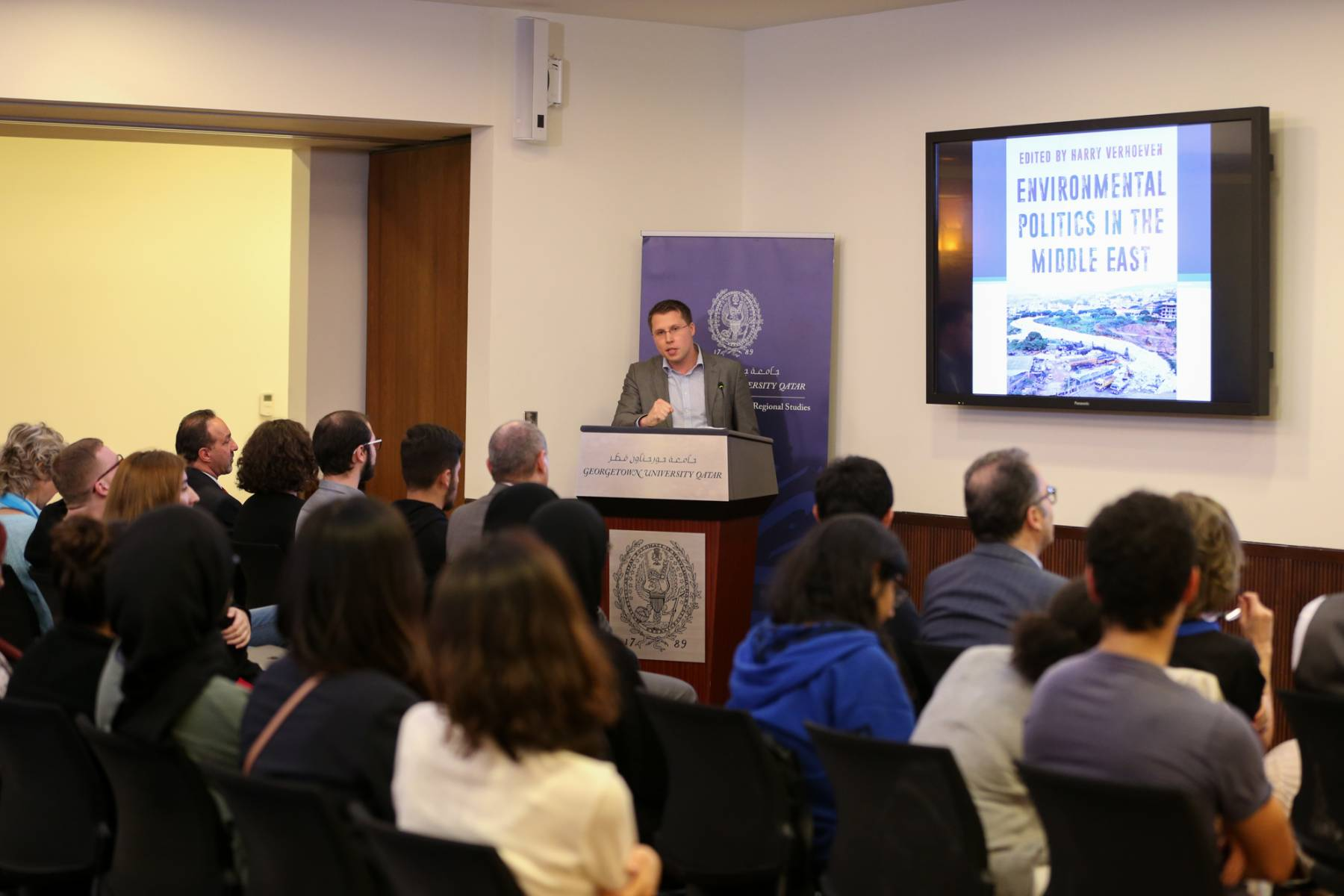 Book Launch: Environmental Politics in the Middle East
