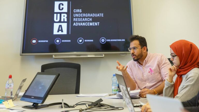 CURA Seminar: Informal Politics in the Middle East