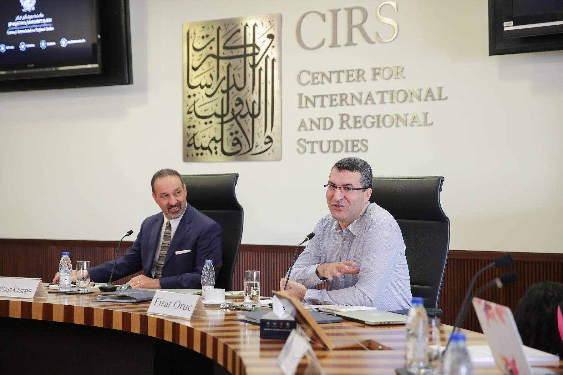 Firat Oruc CIRS Faculty Publication Workshop