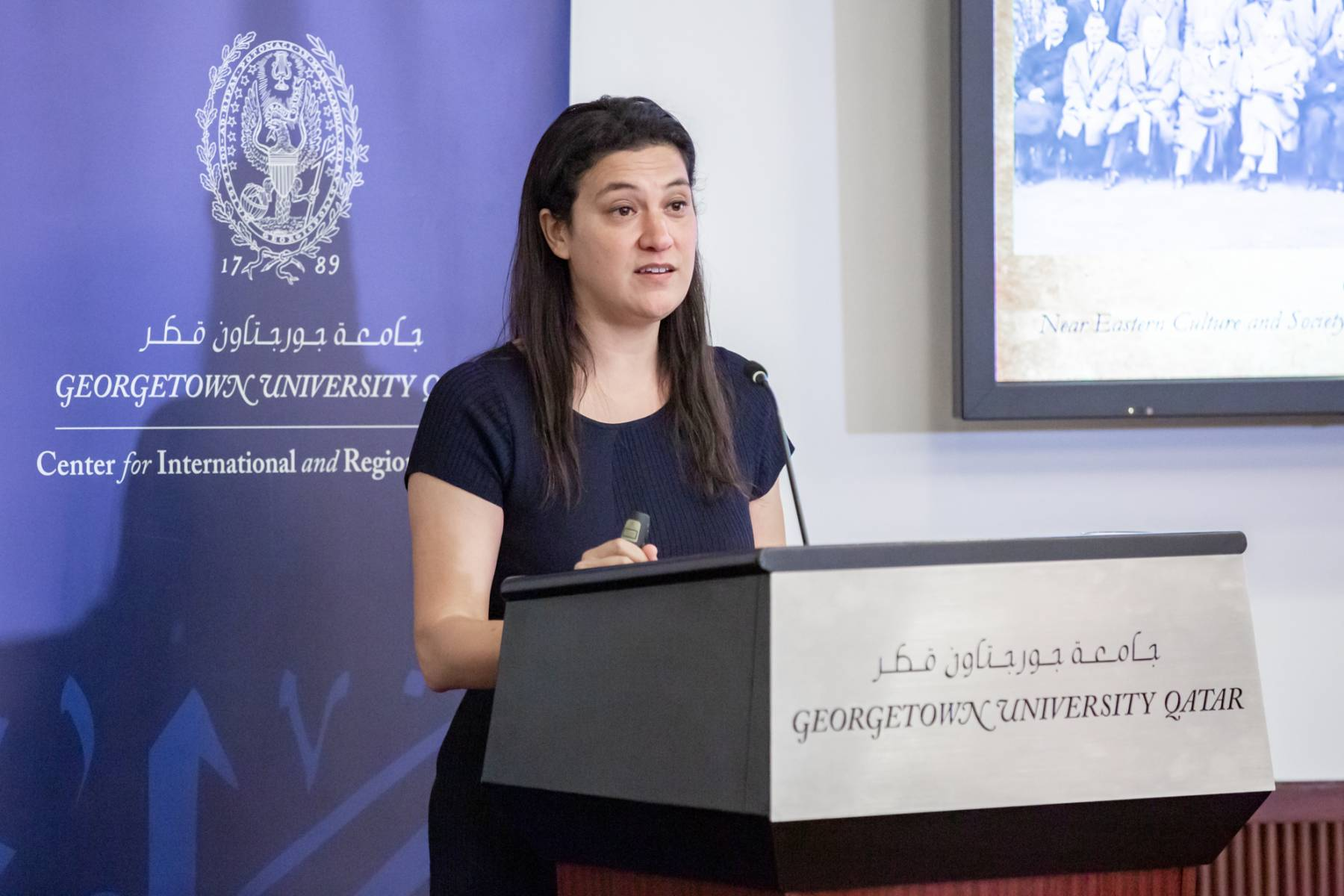 """Karine Walther on """"American Missionaries, ARAMCO, and the Birth of the US-Saudi Special Relationship, 1889-1955"""""""
