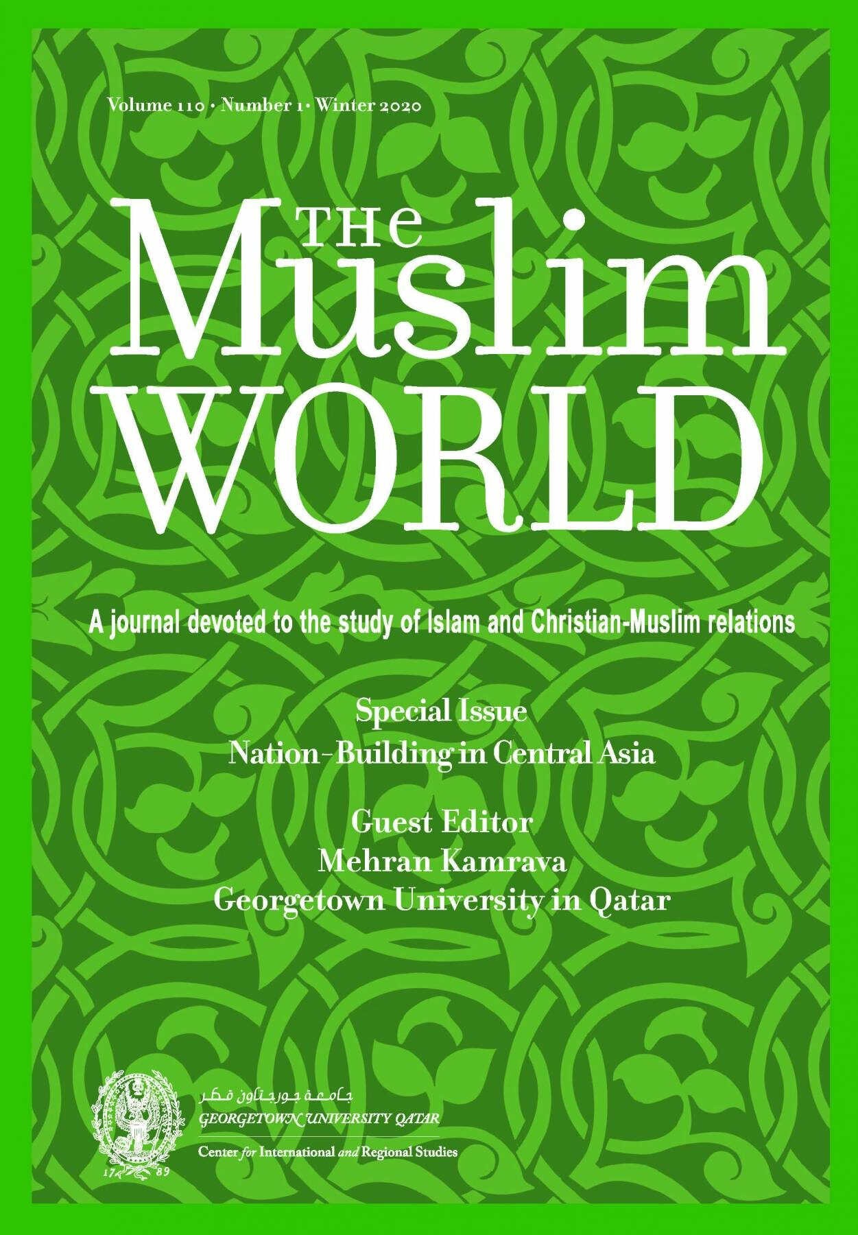 The Muslim World: Nation-Building in Central Asia