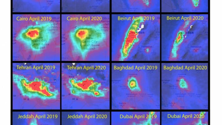 Air Pollution and COVID-19 in the GCC and the Middle East
