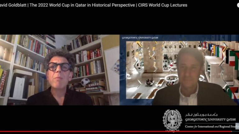 The 2022 World Cup in Qatar in Historical Perspective by David Goldblatt
